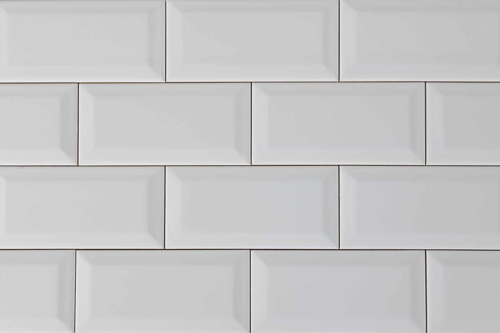 Stokes Bevelled Edge Metro White Stokes Tiles