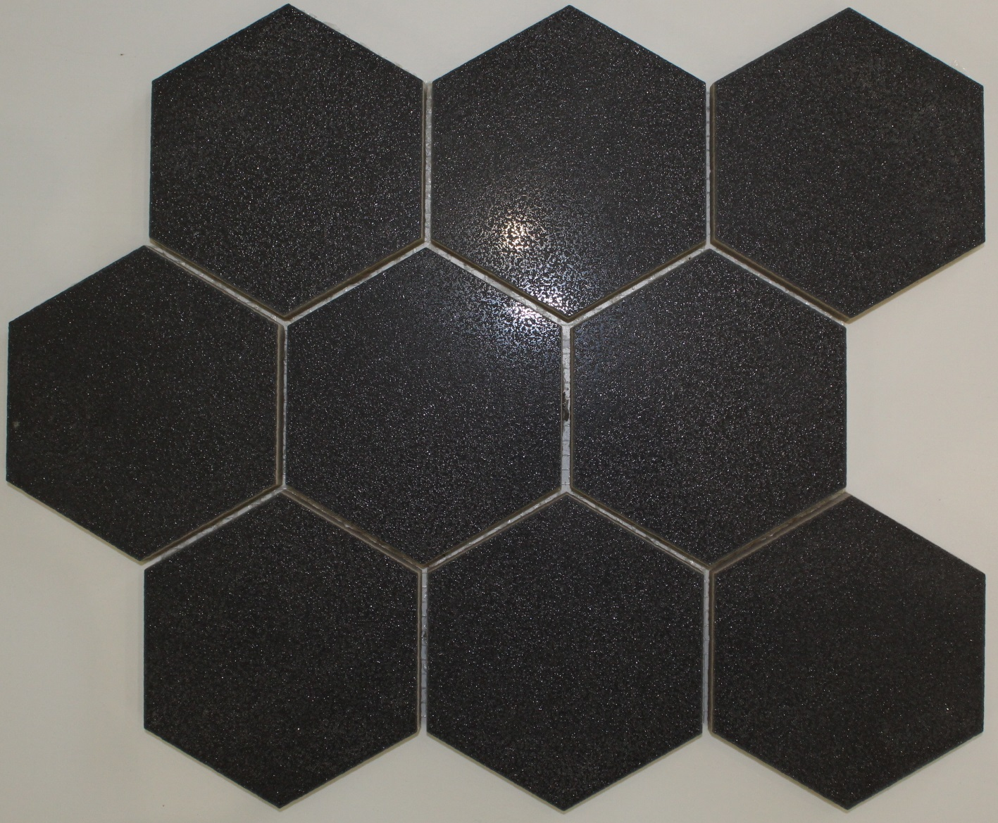Collection FC239 334mm x 275mm Cambia Black Hexagon Mosaic
