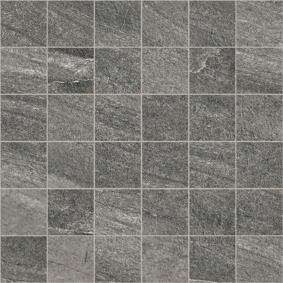 Floor Tile Collection FC237 River Grafito 300mmX300mm Malla Mosaic