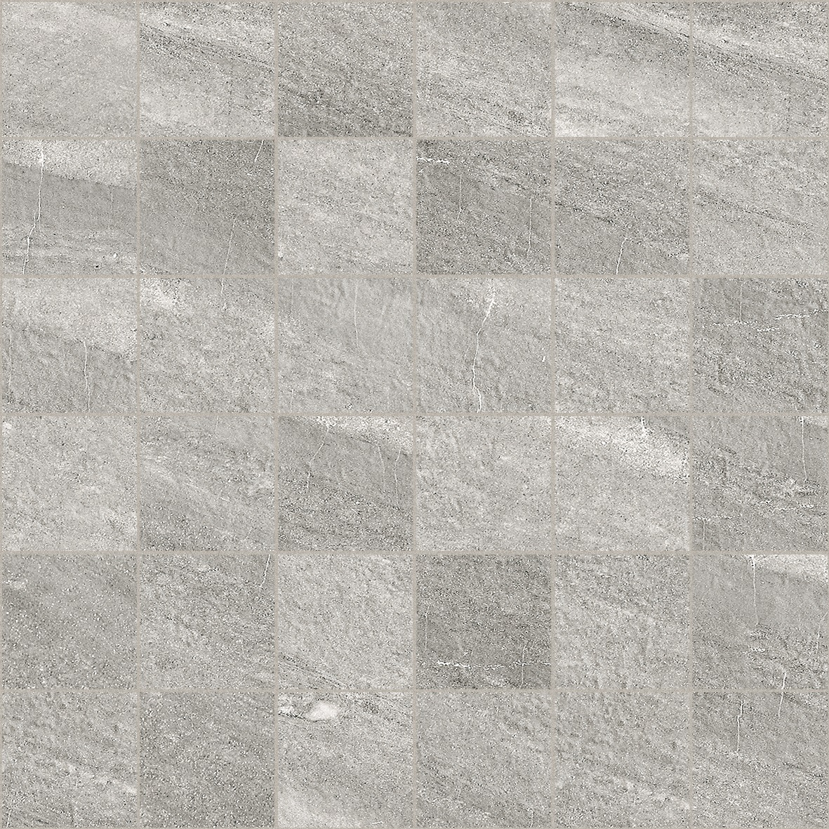 Floor Tile Collection FC236 300mm x 300mm River Gris Malla Mosaic
