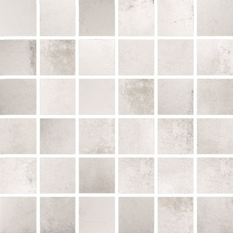 Stokes Tiles Bathroom Collection FC136 Form White Mosaic