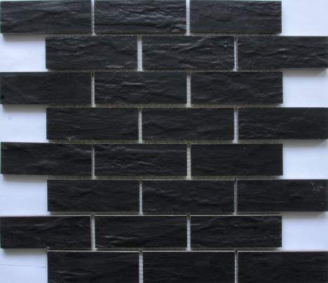 Stokes Tiles Floor Collection FC142 338mm x 338mm Ardosia Perola Slate EffectMosaic Tile