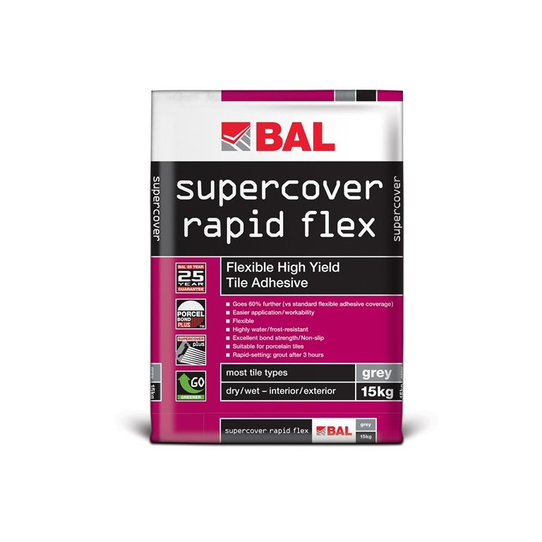BAL Supercover Rapid Flex Grey - 15kg